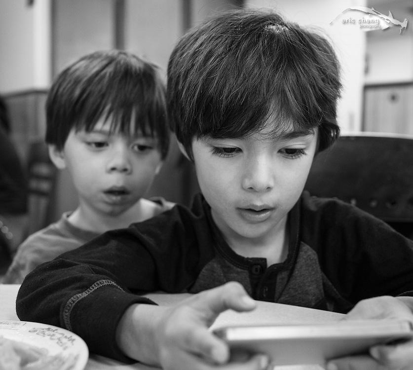 Emiliano and Jackson. Los Angeles, February 17, 2013.