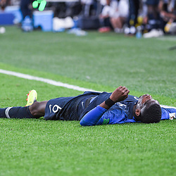 Paul Pogba of France during the Semi Final FIFA World Cup match between France and Belgium at Krestovsky Stadium on July 10, 2018 in Saint Petersburg, Russia. (Photo by Anthony Dibon/Icon Sport)