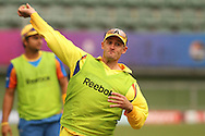 Mike Hussey of the Chennai Super Kings during the Superkings training session held at St Georges Park in Port Elizabeth on the 20 September 2010..Photo by: Shaun Roy/SPORTZPICS/CLT20