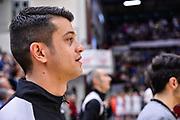 Valerio Grigioni<br /> Banco di Sardegna Dinamo Sassari - Umana Reyer Venezia<br /> Legabasket Serie A LBA PosteMobile 2017/2018<br /> Sassari, 22/04/2018<br /> Foto L.Canu / Ciamillo-Castoria