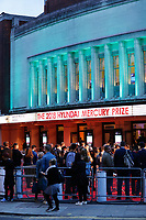 A shot of the Eventim Apollo from outside