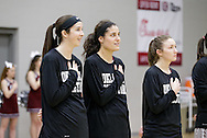 November 28, 2016: The  University of Science and Arts of Oklahoma Drovers play against the Oklahoma Christian University Lady Eagles in the Eagles Nest on the campus of Oklahoma Christian University.