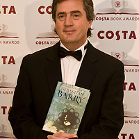 London Jan 27   Sebastian Barry attends the Costa Book Award at the Intercontinental Hotel in Lonodn England on January 27 2009...***Standard Licence  Fee's Apply To All Image Use***.XianPix Pictures  Agency . tel +44 (0) 845 050 6211. e-mail sales@xianpix.com .www.xianpix.com