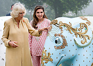 Camilla & Charles Attend Elephant Charity Event, India