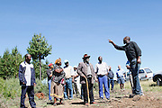 Forest company meeting to propose an alternative site.<br />