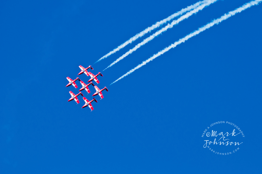 Royal Canadian Air Force 'Snowbirds' team, Fleet Week Air Show, San Francisco, California, USA