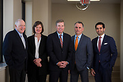 Good Samaritan Hospital C-Suite executives pose for a group portrait at Good Samaritan Hospital in San Jose, California, on March 30, 2017. (Stan Olszewski/SOSKIphoto)
