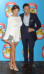 Mark Wright and Michelle Keegan arrive at the show.<br /> Celebrities attend the opening night of new West End show 'I Can't Sing' at The London palladium, London, UK. Wednesday, 26th March 2014. Picture by Ben Stevens / i-Images
