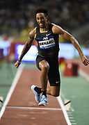 Chris Benard (USA) places fifth in the triple jump at 55-2 (16.81m) in the 43nd Memorial Van Damme in an IAAF Diamond League meet at King Baudouin Stadium in Brussels, Belgium on Friday,August 31, 2018. (Jiro Mochizuki/Image of Sport)