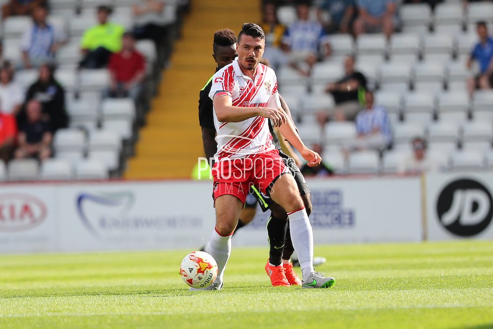 Ronnie Henry during the Pre-Season Friendly match between Stevenage and Brighton and Hove Albion at the Lamex Stadium, Stevenage, England on 23 July 2016.