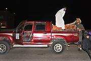 Pickup truck at Middle East Tek, Wadi Rum, Jordan, 2008