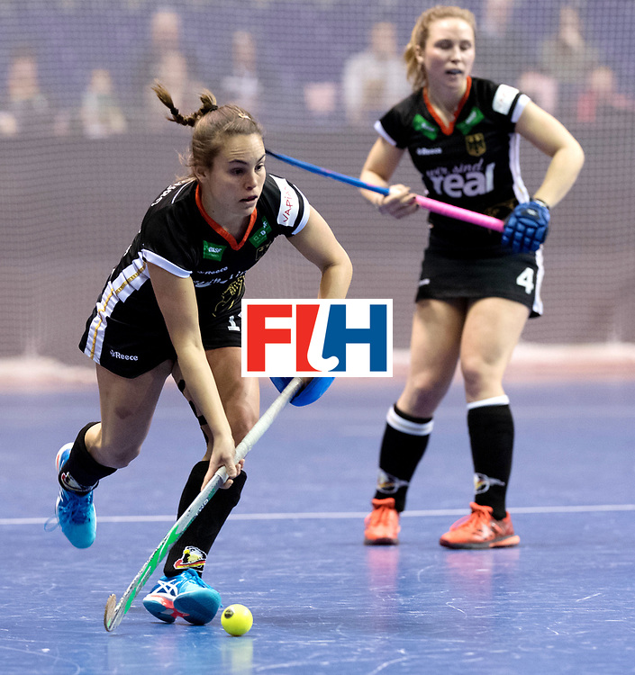BERLIN - Indoor Hockey World Cup<br /> Women: Germany  - Australia<br /> foto: Lisa Altenburg.<br /> WORLDSPORTPICS COPYRIGHT FRANK UIJLENBROEK