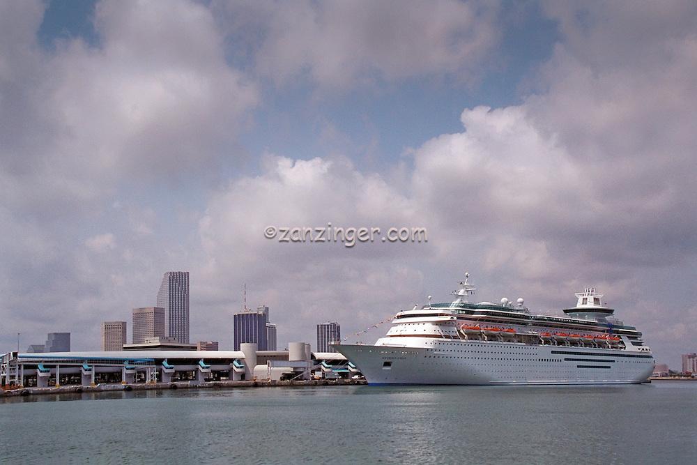 Port Of Miami Florida Royal Caribbean Sovereign Of The Seas - Sovereign cruise ship