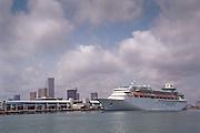 Port of Miami Florida, Royal Caribbean, Sovereign of the Seas cruise ship