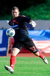Goalkeeper of Koper Igor Nenezic at the football match Interblock vs NK Luka Koper in 12th Round of Prva liga 2009 - 2010,  on October 03, 2009, in ZSD Ljubljana, Ljubljana, Slovenia. Luka Koper won 1:0.  (Photo by Vid Ponikvar / Sportida)