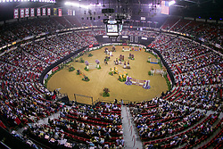 Overzicht arena<br /> World Cup Final Jumping - Las Vegas 2005<br /> © Hippo Foto - Dirk Caremans