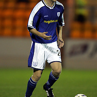 St Johnstone defender Steven Anderson...Season 04-05<br /><br />Picture by Graeme Hart.<br />Copyright Perthshire Picture Agency<br />Tel: 01738 623350  Mobile: 07990 594431