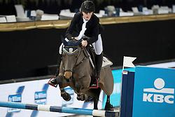 Philippaerts Anthony, BEL, Roberlina<br /> FEI Ponies Jumping Trophy<br /> Vlaanderens Kerstjumping Memorial Eric Wauters<br /> © Dirk Caremans<br /> 27/12/2016