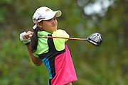 Cyna Rodriguez during the fourth round of the LPGA Qualifying Tournament Stage Three at LPGA International in Daytona Beach, Florida on Dec. 5, 2015.<br /> <br /> ©2015 Scott A. Miller