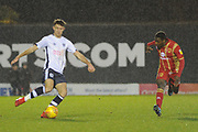 Bury Defender, Will Aimson (4)  during the EFL Sky Bet League 2 match between Bury and Milton Keynes Dons at the JD Stadium, Bury, England on 12 January 2019.
