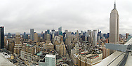 New York City as seen from the rooftop of the brand new building named The Continental.