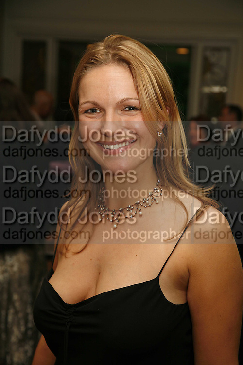 Charlotte Heath-Bullock, Gala champagne reception and dinner in aid of CLIC Sargent.  Grosvenor House Art and Antiques Fair.  Grosvenor House. Park Lane. London. 14 June 2006. ONE TIME USE ONLY - DO NOT ARCHIVE  © Copyright Photograph by Dafydd Jones 66 Stockwell Park Rd. London SW9 0DA Tel 020 7733 0108 www.dafjones.com