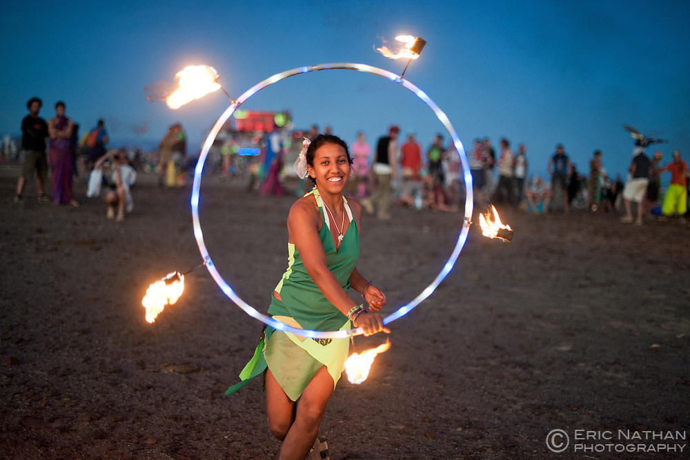 Image from the AfrikaBurn 2013 festival held in Tankwa in the Karoo region of South Africa.