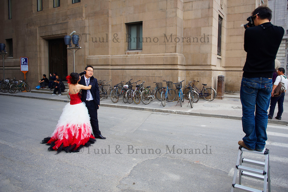 Chine, Shanghai, jour de mariage //  China, Shanghai, wedding day