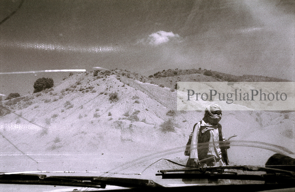 Traverlers in the barren land of Khost