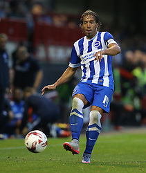 Inigo Calderon of Brighton and Hove Albion - Mandatory by-line: Paul Terry/JMP - 22/07/2015 - SPORT - FOOTBALL - Crawley,England - Broadfield Stadium - Crawley Town v Brighton and Hove Albion - Pre-Season Friendly