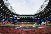 The Tottenham Hotspur Stadium during the International Series match between Tampa Bay Buccaneers and Carolina Panthers at Tottenham Hotspur Stadium, London, United Kingdom on 13 October 2019.