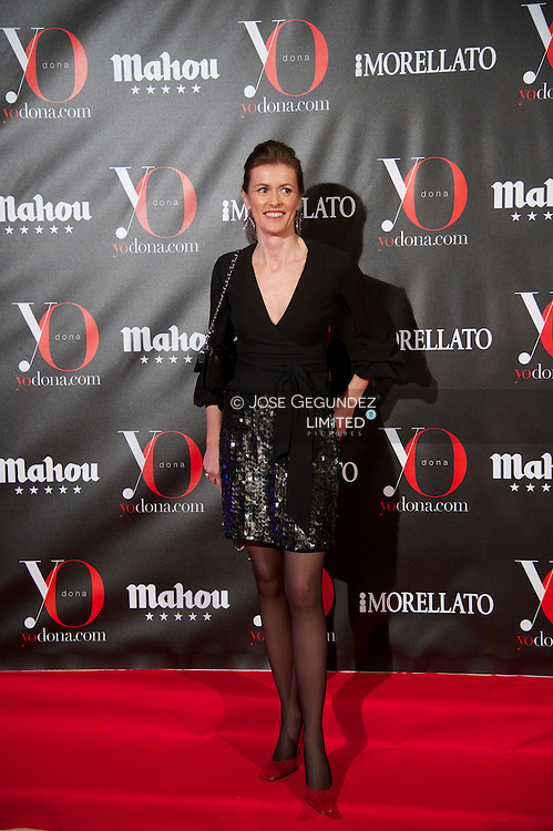 Nuria March attends 'Yo Dona' Magazine's Mask Party at Casino on 18 February, 2013 in Madrid