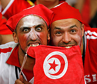 Photo: Glyn Thomas.<br />Spain v Tunisia. FIFA World Cup 2006. 19/06/2006.<br /> Tunisian fans.