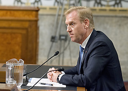 June 20, 2017 - Washington, District of Columbia, United States of America - Patrick M. Shanahan appears before the United States Senate Committee on Armed Services on his nomination to be US Deputy Secretary of Defense on Capitol Hill in Washington, DC on Tuesday, June 20, 2017..Credit: Ron Sachs / CNP (Credit Image: © Ron Sachs/CNP via ZUMA Wire)