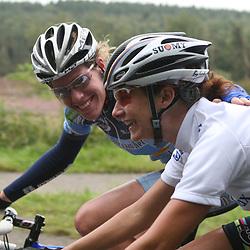 Ladiestour 2007 Apeldoorn<br />Ellen van Dijk; Marianne Vos