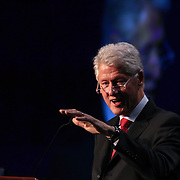 Former President Bill Clinton speaks at Senator Coons Third annual Opportunity Africa conference