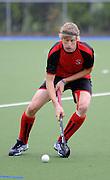Guy Borren in action for Canterbury during the National Under 21 Hockey Tournament - Day 1, 7 May 2011, Alexander McMillan Hockey Centre Dunedin, New Zealand. Photo: Richard Hood/photosport.co.nz