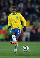 Ellis Park  Johannesburg World Cup 2010  Brazil v Korea DPR Match 14 15/06/10<br /> Maico (Brazil) <br /> Photo Roger Parker Fotosports International