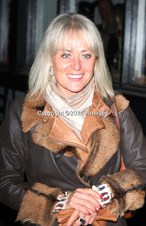 TRACIE BENNETT arrives for the opening night for the new musical A-Z Of Mrs P, London, United Kingdom. Monday, 24th February 2014. Picture by i-Images