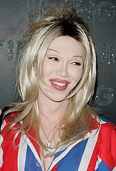 Pete Burns arriving at the Living TV Summer Schedule Launch, the Z Rooms, Brick Lane, London.