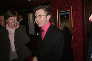 Thomas Schumacher, Opening night of Mary Poppins at the Prince Edward Theatre and party afterwards at 1 Leicester Sq. 15 December 2004. SUPPLIED FOR ONE-TIME USE ONLY> DO NOT ARCHIVE. © Copyright Photograph by Dafydd Jones 66 Stockwell Park Rd. London SW9 0DA Tel 020 7733 0108 www.dafjones.com