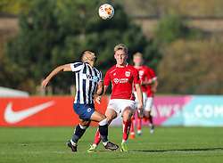 Jake Andrews of Bristol City U23 - Rogan Thomson/JMP - 31/10/2016 - FOOTBALL - SGS Wise Campus - Bristol, England - Bristol City U23 v Millwall U23 - U23 Professional Development League 2 (South Division).
