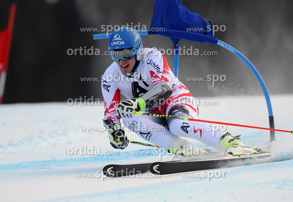 07.12.2014, Birds of Prey Course, Beaver Creek, USA, FIS Weltcup Ski Alpin, Beaver Creek, Herren, Riesenslalom, 1. Lauf, im Bild Matthias Mayer (AUT) // Matthias Mayer of Austria in actionduring the 1st run of men's Giant Slalom of FIS Ski World Cup at the Birds of Prey Course in Beaver Creek, United States on 2014/12/07. EXPA Pictures © 2014, PhotoCredit: EXPA/ Erich Spiess