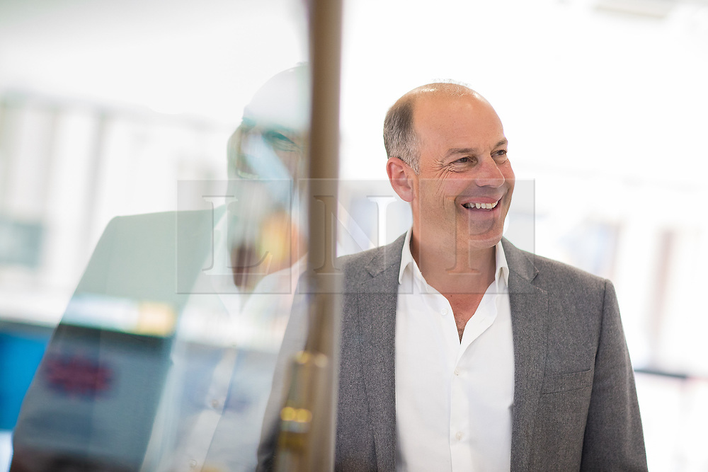 © Licensed to London News Pictures . 29/04/2017 . Trafford , UK . TV presenter PHIL SPENCER at the opening of a branch of Silent Night Sleep Centre at Barton Square , the Trafford Centre . Photo credit : Joel Goodman/LNP