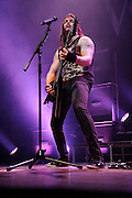 Photos of Welsh metal band Bullet For My Valentine performing at the Pageant in St. Louis on May 21, 2010.