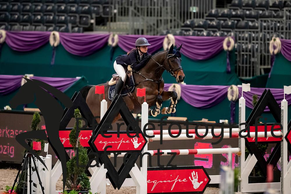 THIELEN Julie (GER), Castor Bs<br /> Leipzig - Partner Pferd 2019<br /> SPOOKS-Amateur Trophy<br /> Medium Tour<br /> 18. Januar 2019<br /> © www.sportfotos-lafrentz.de/Stefan Lafrentz
