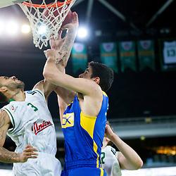 20160203: SLO, Basketball - EuroCup LAST 32, KK Union Olimpija vs Maccabi Tel Aviv