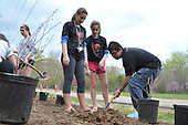 "WASHINGTON, DC - ""Be Amazing"" SPIDERMAN 2 Earth Day Best Buddies Event – Tree/ Flower Planting"