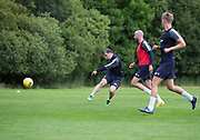 Dundee&rsquo;s Paul McGowan scores a screamer during Dundee FC training at Michelin Grounds, Dundee, Photo: David Young<br /> <br />  - &copy; David Young - www.davidyoungphoto.co.uk - email: davidyoungphoto@gmail.com