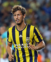 UEFA Europa league Playoff first leg match between Fenerbahce and Grasshoppers at Ulker Stadium in Istanbul on August 18 , 2016.<br /> Pictured: Salih Ucan of Fenerbahce .